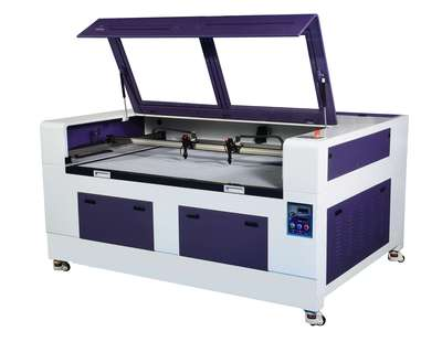 S1610D  Non-Metal Laser Engraving & Cutting Machine - Double Heads Series