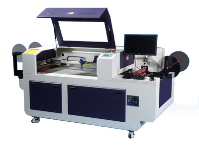 S9060CCD-AR--Intelligent Rolling Label Laser Cutting Machine  (With CCD Camera Positioning)