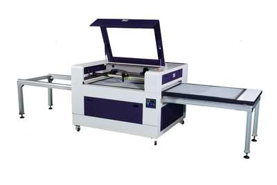 JH10080--Non-Metal Material Auto Shifting Dual-Table Laser Engraving&Cutting Machine-JH Series