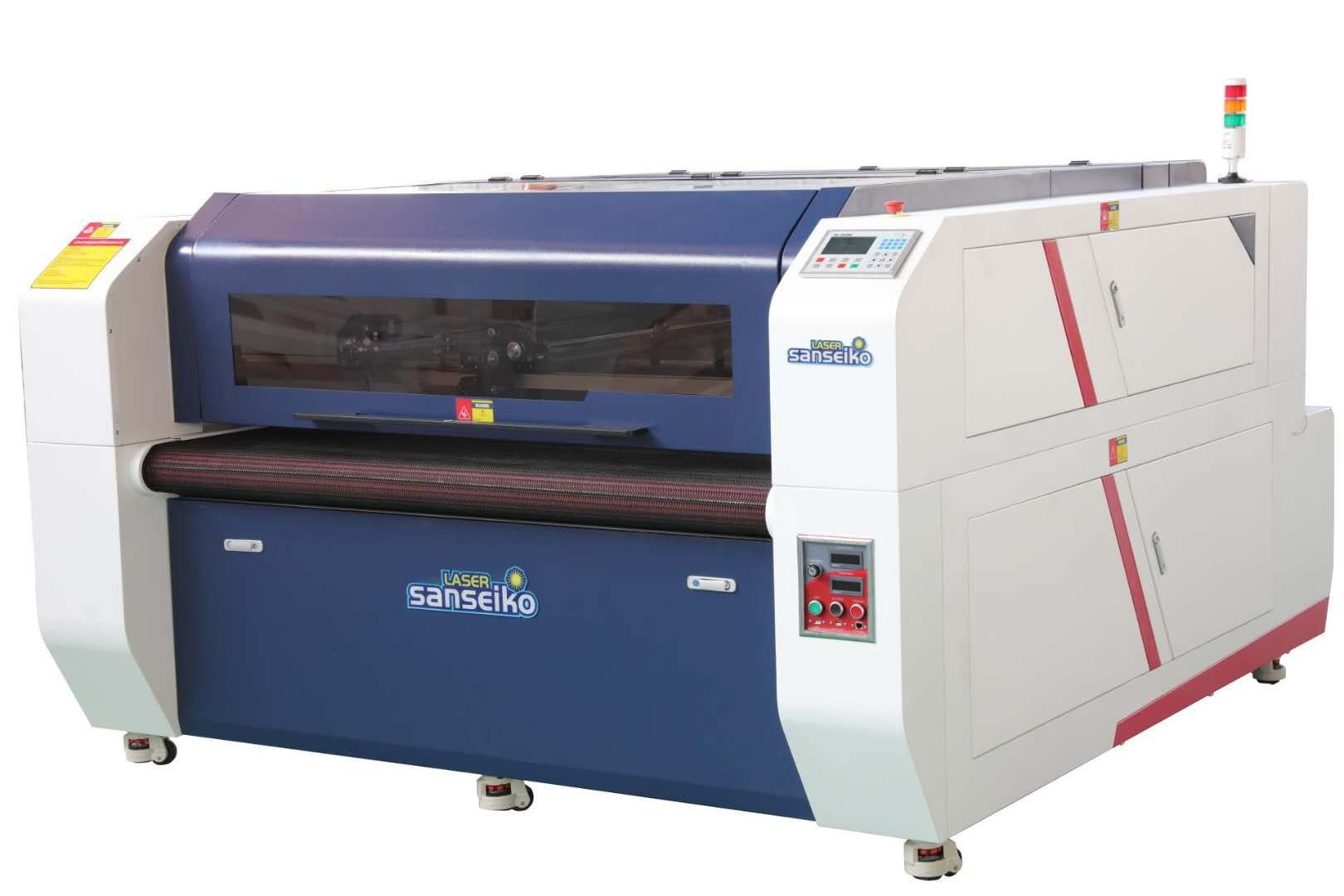 HP1610D-AF--Digital Dual Heads Laser Cutting Machine,- Mixed Typesetting & Mixed Cutting System