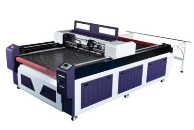 NC1625D-AF Automatic Non-Metal Material Large Size Laser Cutting Bed