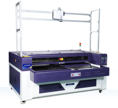 XJH1610-P--Auto Double  Alternate-Platform Hollowed-out Vamp Laser Engraving&Cutting Machine